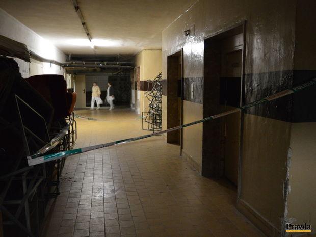 výťah, nemocnica Galanta