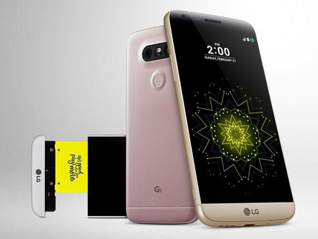 LG G5, smartfón, mobil, modulárny smartfón