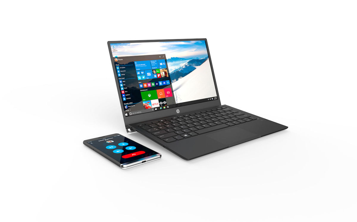 Takzvaný Mobile Extender je v podstate notebookom, ktorý využíva výpočtový výkon smartfónu, s ktorým je prepojený.