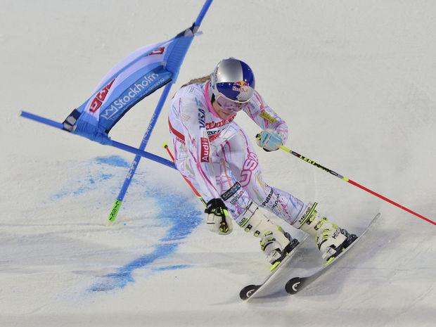 lindsey vonnová, lyžovanie,