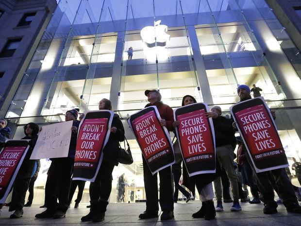 demonštrácia, protest, apple,