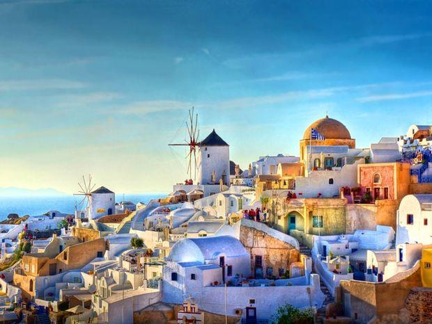 Oia, Grécko