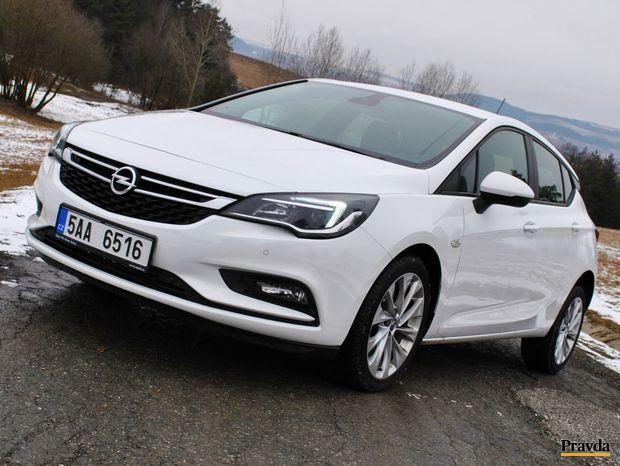 Opel Astra 1,0 Turbo