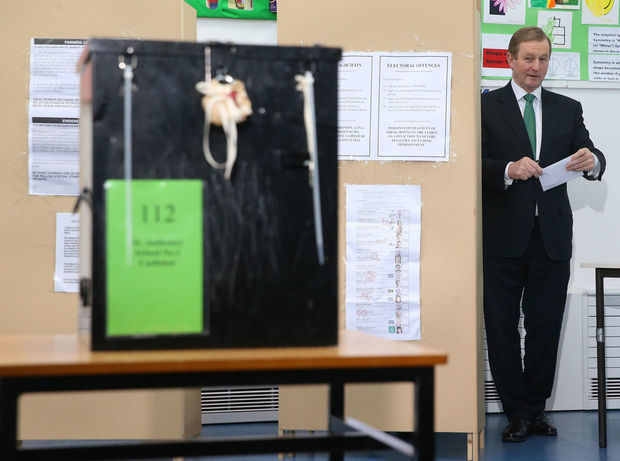 irsko, volby, premier, Enda Kenny