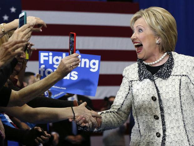 Clintonová, USA