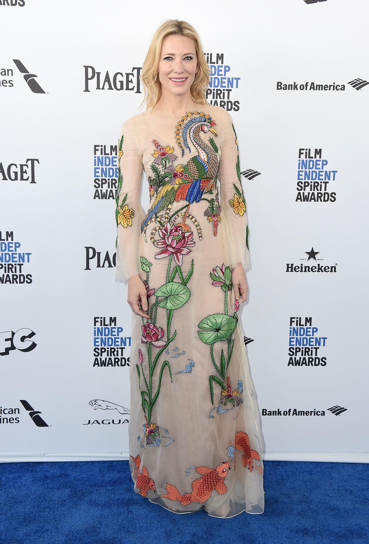 Herečka Cate Blanchett na archívnom zábere.