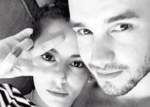 Spevák Liam Payne a speváčka Cheryl Fernandez-Versini na zábere z Instagramu.