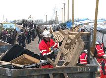 Calais, utečenci