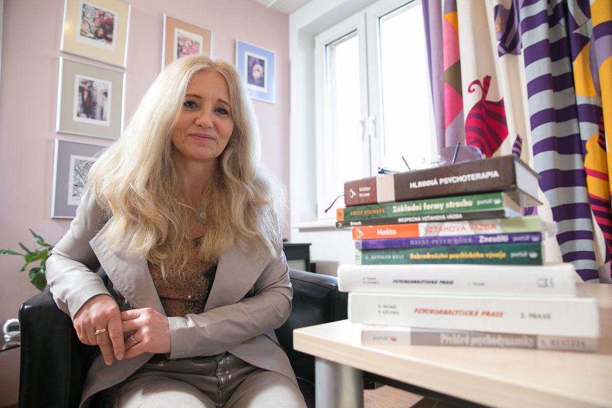 Dnes psychologička, v minulosti lyžiarka Elena Medzihradská.