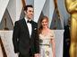 Herec Sacha Baron Cohen a jeho manželka Isla Fisher.