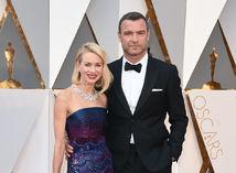 Herečka Naomi Watts a jej životný partner Liev Schreiber.