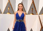 Nominovaná herečka Brie Larson prišla v róbe Gucci.