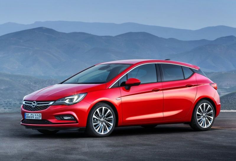 1. Opel Astra - 309 bodov