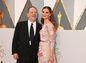 Producent Harvey Weinstein a jeho manželka Georgina Chapman.