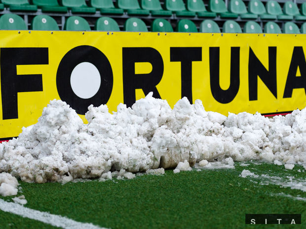sneh, futbal, fortuna liga, mšk žilina,