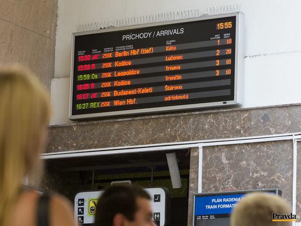 meskanie vlakov, zeleznicna stanica, hlavna stanica Bratislava