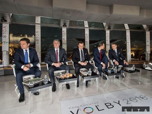 Matovič, Bugár, danko, Procházka, Fico