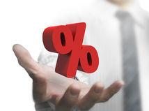 úrok, percento, peniaze, hypotéka, sporenie
