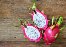 Exotická pitaya.