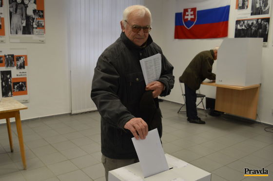 Dôchodca Mojmír Holec z Piešťan vedel vopred, koho bude voliť v parlamentných voľbách.