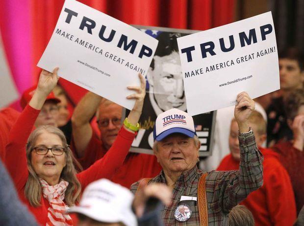 Trump, prezidentské voľby USA, Wichita, Kansaa