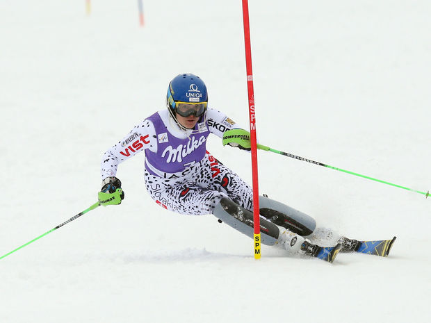 Jasna slalom Veronika Velez Zuzulova