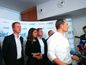 """Predseda strany Sieť Radoslav Procházka sa poďakoval všetkým, ktorí prišli voliť a zvlášť voličom Siete: """"Vo mne sa mieša sklamanie z odhadu výsledku spolu s vďačnosťou za každý hlas, ktorý sme dostali."""""""