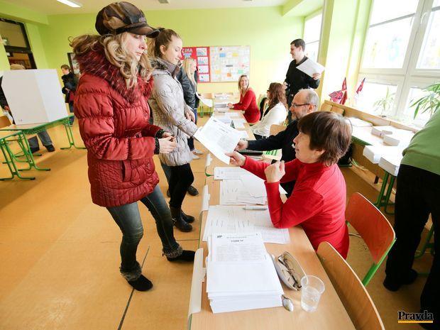 Bratislava, voľby, volebná miestnsoť
