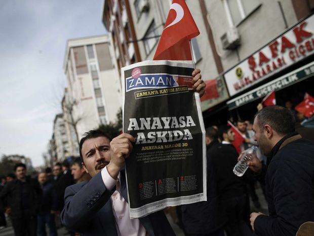 denník Zaman, Turecko