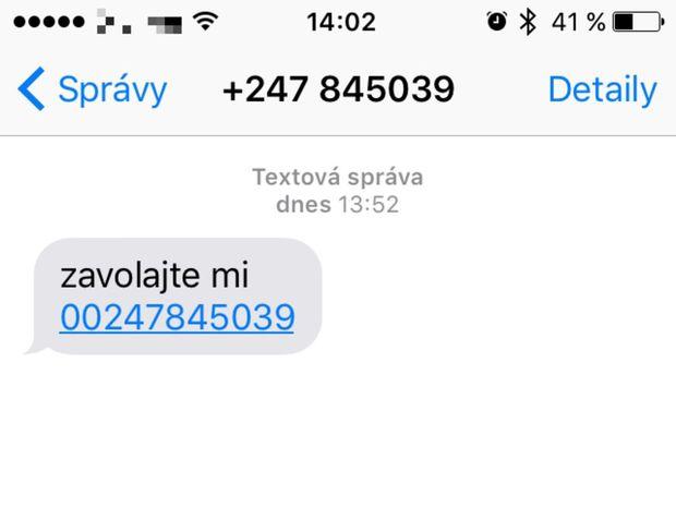 Eset, Ascension, SMS