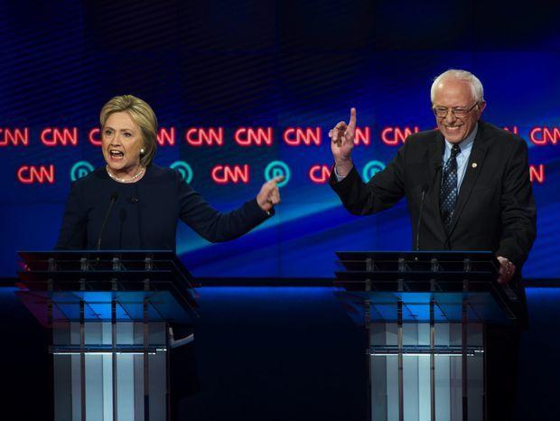 USA, Clintonová, Sanders,