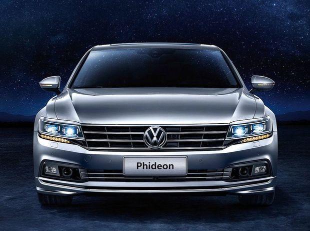 Phideon bude poháňať preplňovaný benzínový motor 3,0 TSI s výkonom 220 kW. Neskôr sa pod kapotu chystá aj slabší 4-valec 2,0 TSI.
