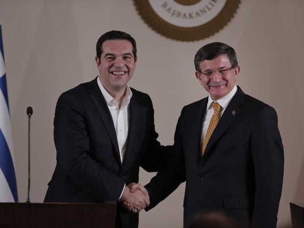 Davutoglu, Tsipras