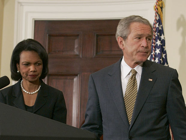 Condoleezza Rice, George Bush, Sudán