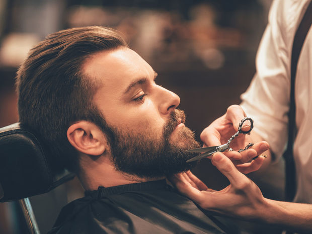 fúzy, brada, holenie,