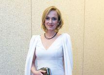 Herečka Monika Hilmerová so šperkmi, ktoré zdobili čierne diamanty.