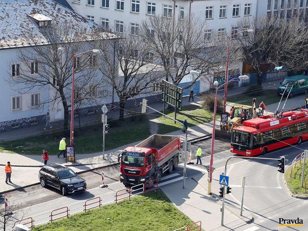 Bratislava, Trnavská cesta