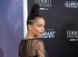 Zoe Kravitz na premiére filmu Divergencia: Experiment v New Yorku.