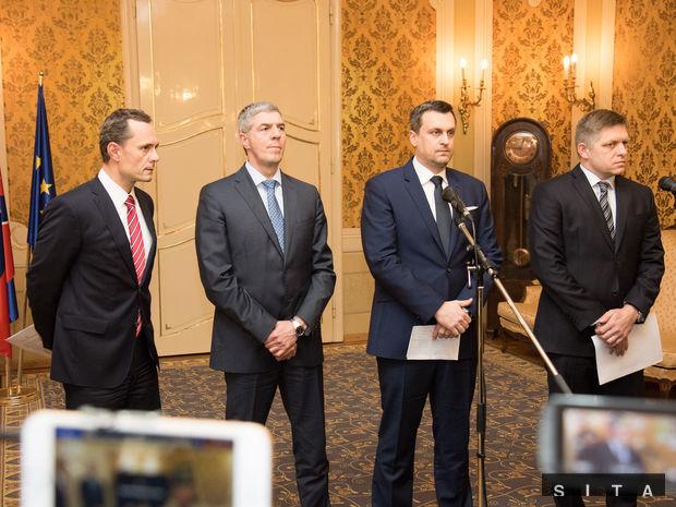 Procházka, Bugár, Danko, Fico