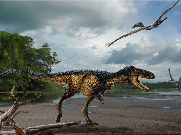 T-rex, tyrannosaurus rex, Timurlengia euotica, dinosaurus