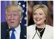 Donald Trump, Hillary Clintonová