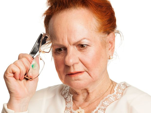 žena, okuliare, pamäť