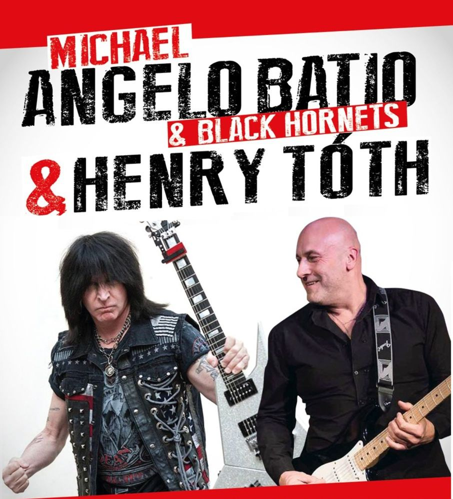 M. ANGELO BATIO & BLACK HORNETS & HENRY TOTH