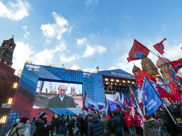 Krym, Putin