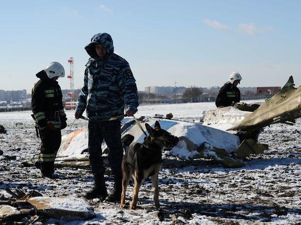 Rusko, Rostv na Done, lietadlo, havaria, policajt, pes,