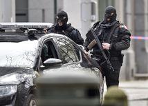 Brusel, útok, policajti