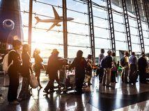 lietadlo, letisko, cestovanie, turizmus