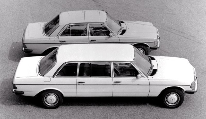 Vznikla aj predĺžená limuzína. Tá je dnes vzácna, keďže z liniek zišlo len 13 700 kusov.