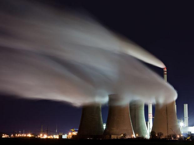 oteplovanie, globalne oteplovanie, komin, jadrova elektraren, dym, fabrika, tovaren