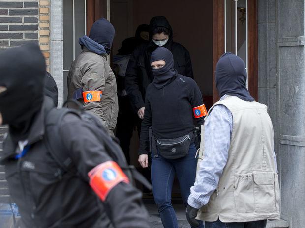 brusel, belgicko, polícia,